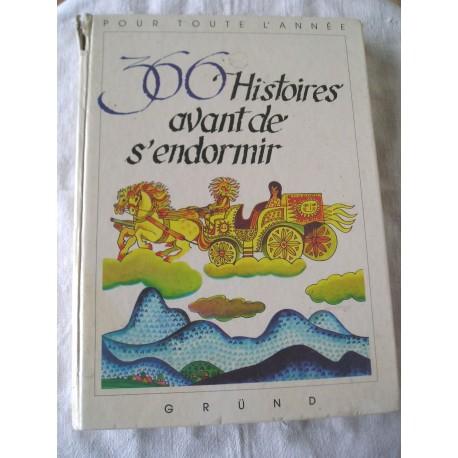 """Livre ancien pour enfants """"366 histoires avant de s'endormir"""""""
