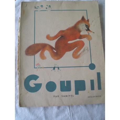 Livre ancien pour enfants Goupil