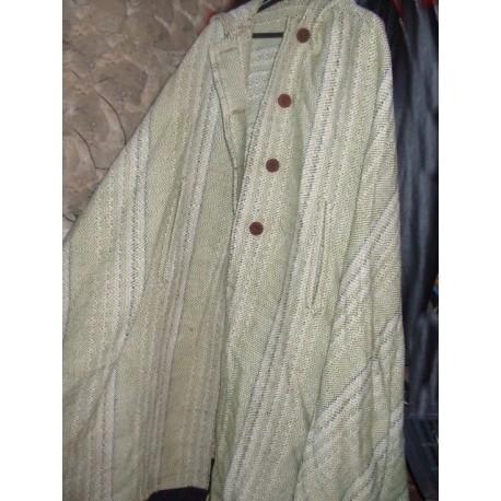 Cape ancienne en lainage 4m