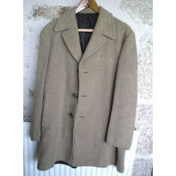 Manteau ancien en laine, marron