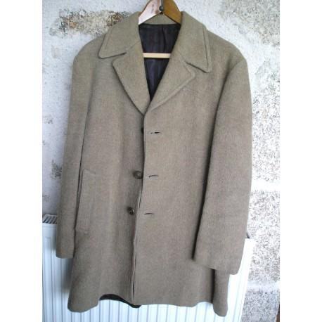 Manteau ancien en laine, marron