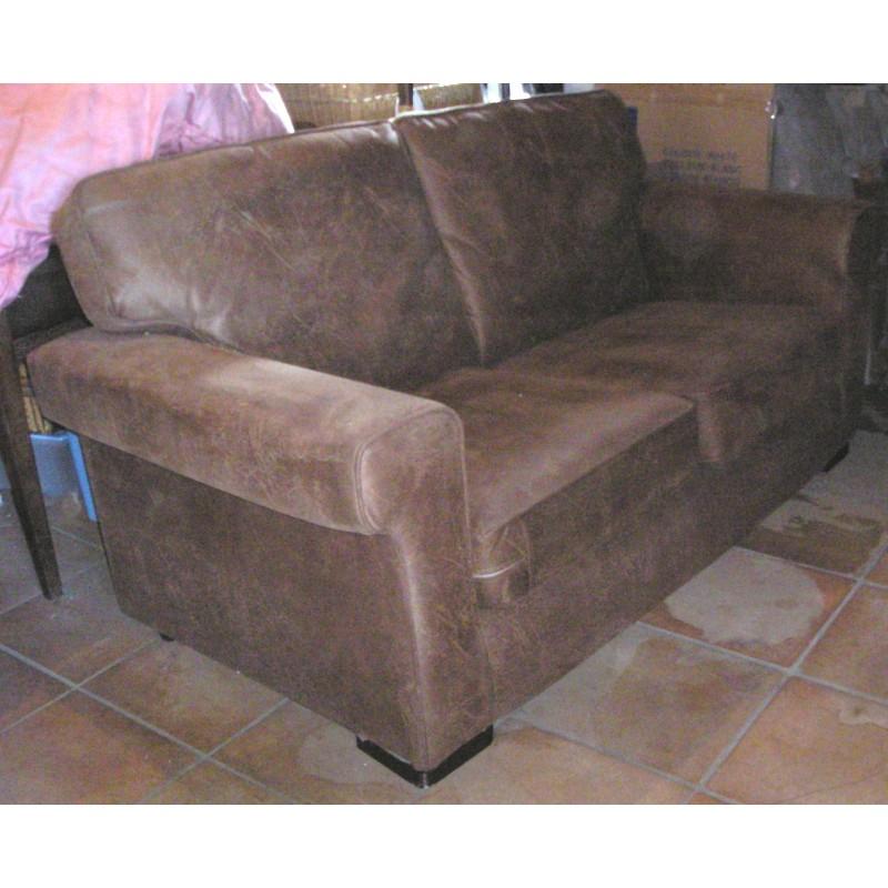 canap 2 places en su dine excellent tat broc23. Black Bedroom Furniture Sets. Home Design Ideas