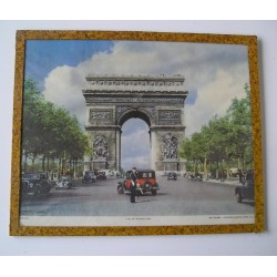 Sous verre Paris années 50