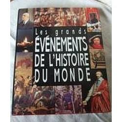 """Livre """"les grands évenements de l'histoire du monde"""" de J.Marseille"""