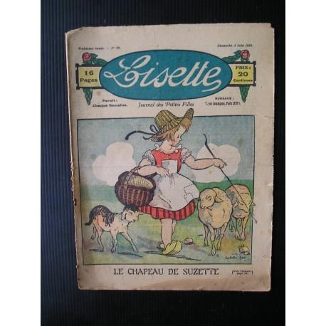 Revue ancienne Lisette 1923 n°99