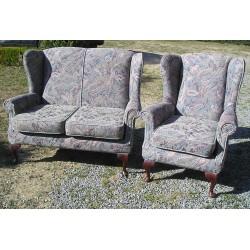Canapé causeuse style ancien