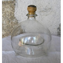Gobe mouche ancien en verre