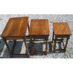 3 Tables gigognes