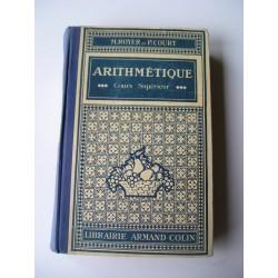 Livre scolaire ancien Arithmétique 1932