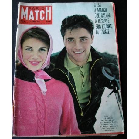 Paris Match Sacha Distel 1961