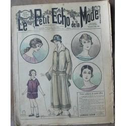 """Revue ancienne """"Petit Echo de la Mode"""" de 1923 (mai)"""