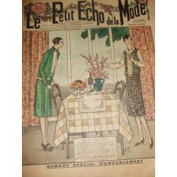"""Revue ancienne """"Petit Echo de la Mode"""" de 1927 (juin)"""