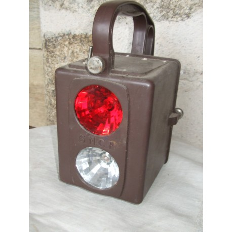 Lampe ancienne SNCF
