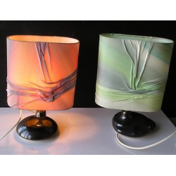 2 lampes artisanales