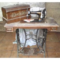 Machine à coudre ancienne Koehler