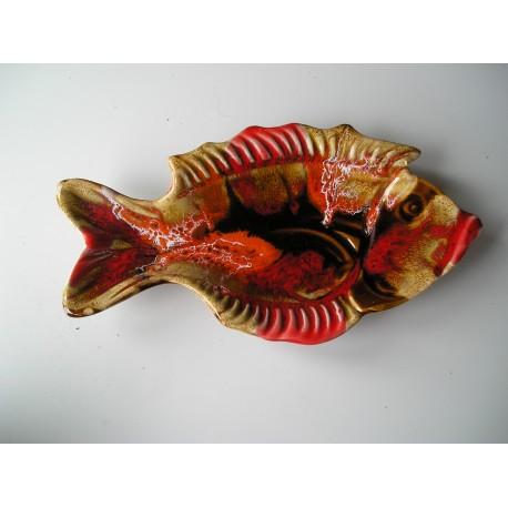 Petit plat Vallauris, poisson