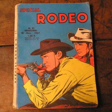Album BD ancien RODEO N°21 de 1967