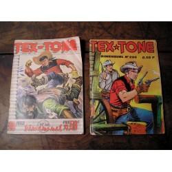 2 albums BD ancienTEX TONE de 1969