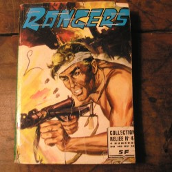 album BD ancien RANGERS N°4 de  1978