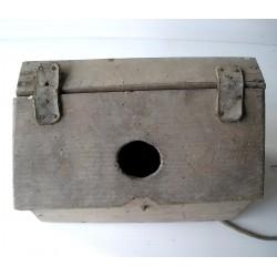 Petite boite à outils ancienne en bois  artisan cordonnier