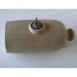 Bouillotte en céramique, bouchon dessus