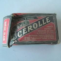 Boite ancienne Cerolle
