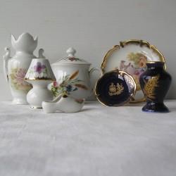 Lot 7 objets déco Porcelaine de Limoges