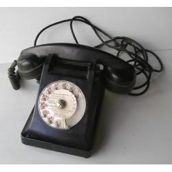 Téléphone bakelite noir ERICSSON