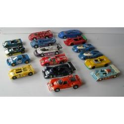 LOT de 16 Voitures miniatures F1 -  1/43 Solido, Norev...