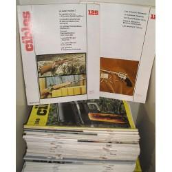 10 Magazines d'armes anciens CIBLES années 78/82