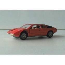 Lamborghini Urraco rouge Mattel Mebetoys 1/43