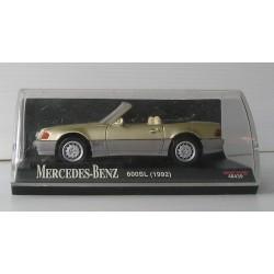 Voiture miniature MERCEDES 600SL 1992, new ray 48439 dans sa boite