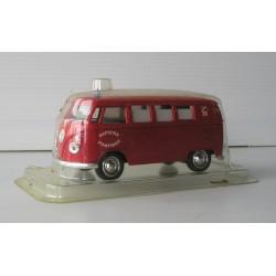 Voiture miniature bus VW pompier sous blister