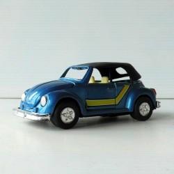 Voiture miniature VW  Coccinelle TT 101 SCALE bleue 1/36 fonctionne