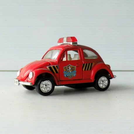Voiture miniature VW  Coccinelle FIRE BRIGADE 28  SCALE