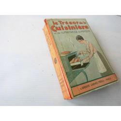 Livre de cuisine ancien Trésor de la cuisinière