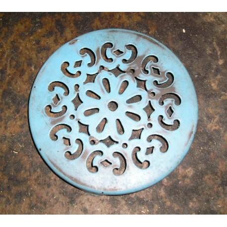 Dessous de plat ancien, métal - Vintage