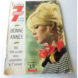 Brigitte BARDOT - BB télé 7 jours 1962