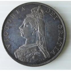 Pièce monnaie italienne Reine Victoria  1887
