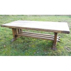 Table basse de ferme150x70,bois massif