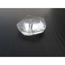 Bouton ancien en verre 23 mm