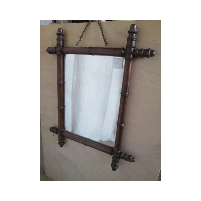 Miroir Ancien En Bois Broc23