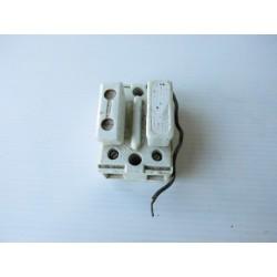 Fusible ancien, matériel électrique en porcelaine E