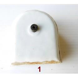 Boite de dérivation-porcelaine-mat. électrique ancien