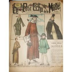 """Revue ancienne """"Petit Echo de la Mode""""1922"""