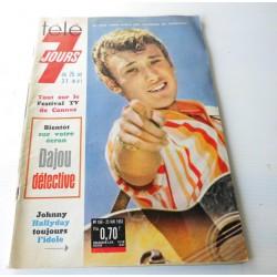 Johnny télé 7 jours mai 1963 n°166