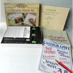 Coffret calligraphie DRYAD started kit, neuf en gb