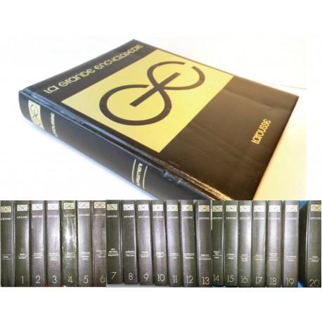 Grande Encyclopédie LAROUSSE 20 volumes + index