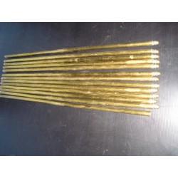 13 Barres à tapis anciennes en métal