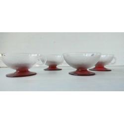 5 tasses granitées très fines